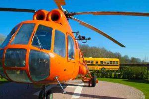 kindvriendelijke glamping met helikopter