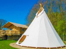 Tipi - Kleine camping Gelderland