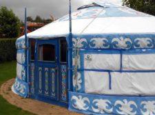 kindvriendelijke vakantie op sprookjescamping met yurt