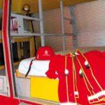 overnachten brandweerauto