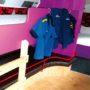 Jan Klaassen Dromenland schoolbus binnen stapelbed