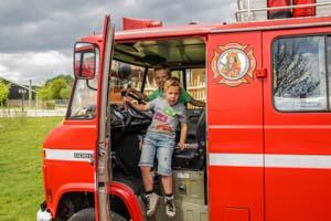 overnachten brandweerwagen