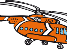 Helikopter Jan Klaassen Dromenland logo