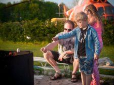 Camping Jan Klaassen Dromenland - Kampvuur met marshmallows