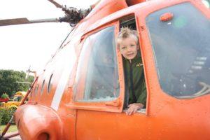 glamping helikopter