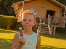 Kindercamping - Safaritent