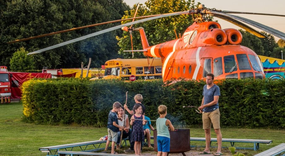 glamping helikopter